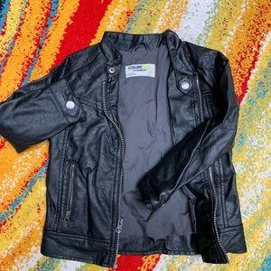 Osh Kosh Motorcycle Leather Jacket